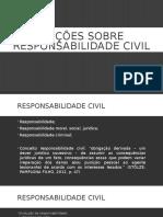 Noções Sobre Responsabilidade Civil