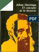 95108999 Johan Huizinga El Concepto de La Historia