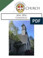 Christ Episcopal Church Eureka May Chronicle 2016