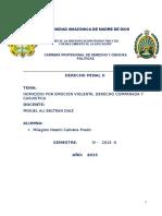 Monografia Derecho Penal II
