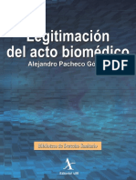 Legitimación Del Acto Biomédico
