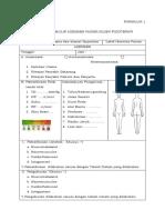 Formulir PMK No 65 Th 2015 Ttg Standar Pelayanan Fisioterapi