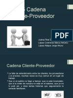 Cadena Cliente Proveedor