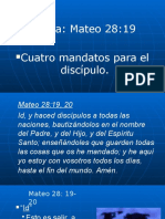 Mateo 28  19