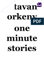 Istvan Orkeny - One Minute Stories (1)