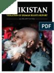 Tajikistan Report