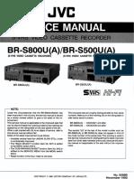 JVC  BR-S500    BR-S800