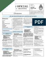 Boletin Oficial 10-05-10 - Tercera Seccion