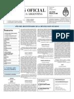 Boletin Oficial 06-05-10 - Segunda Seccion