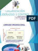 Organización Liderazgo y Control