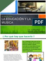 Educación y Música