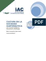 Cultura en La Sociedad Guatemalteca