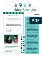 co-teaching strategies