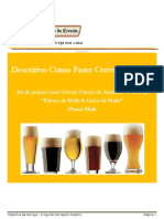 Descritivo Com Fazer Cerveja Com Kit Extrato e Graos