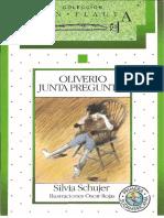 Oliverio Junta Preguntas. Schujer, Silvia.