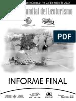 Cumbre Mundial del Ecoturismo