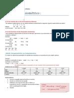 Cálculo Estequimétrico