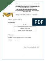 Circuitos eléctricos (informe)