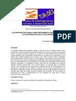 La Capacidad de Carga como Instrumento para garantizar la Sostentibilidad en el Ecoturismo