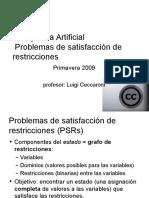 Problemas de Satisfaccion de Restricciones
