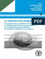 La ordenacion Pesquera 2. El enfoque de ecosistemas en la pesca 2.1 Mejores practicas en la modelación de ecosistemas para constribuir a un enfoque ecosistemico en la pesca.pdf