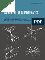 Elementos de Biomatematica