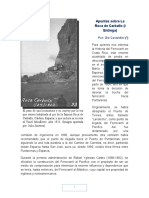 Apuntes Sobre La Roca de Carballo (I Entrega) - Gio Castaldini