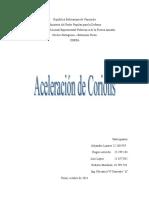 Aceleracion de Coriolistrabajo de Mecanismo