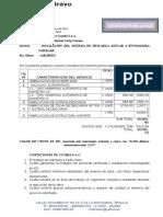 Cotización Descarga Azucar Refinada