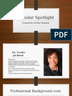 scholar spotlight  2