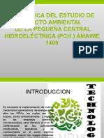 Practica de Estudio de Impacto Ambiental en La PCH Amaime 1400
