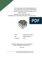 Rancangan aktualisasi CPNS Gol. III