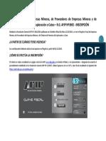 INSTRUCTIVO INSCRIPCION RG3692