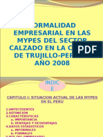formalidad empresarial mypes