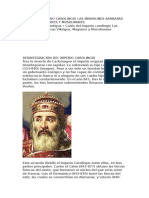 Caida Del Imperio Carolingio Las Invasiones Barbaras Vikingos