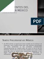 Antecedentes Del Teatro en Mexico