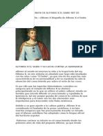 Alfonso x Biografia de Alfonso x El Sabio Rey de Castilla