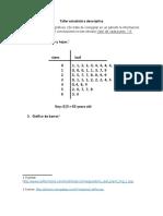 Taller Interpretación de Gráficos Estadísticos