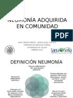 Neumonia Adquirida en Comunidad