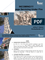 INCOMING!!! Mortgage Servicing Under Fire