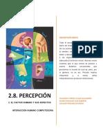 2.8. Percepción