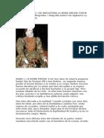 Biografia Isabel i de Inglaterra La Reina Virgen Tudor