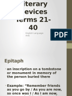 literary devices terms 21-40