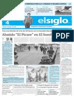 Edicion Impresa El Siglo 04-05-2016
