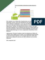 Arquitectura de Sistemas Operativos Para Moviles