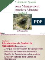Introducción a La Gestión de Operaciones