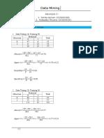 Metode holout dan stratified cv