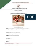 Informe Psicológico de La Aplicación Del Test Gestáltico Visomotor De