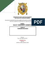 Saneamiento Ambiental H20 - Práctica 1