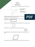 quadrilaterals mat 207